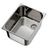 Ambassador Ultra-Mirror Finish Stainless Steel Rectangle Sink