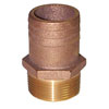 Groco FF-Series Straight Full Flow Pipe to Hose Adapter