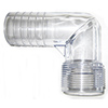 Forespar Clear View Thread to Hose Adapter