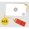 ACR Hot Shot Signal Mirror & Whistle