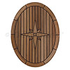 EUDE Nautic Star Teak Table - Oval