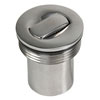 "Whitecap Replacement Push Up Deck Fill Cap - 1-1/2"" Universal"