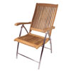 SeaTeak Windrift Folding 6-Position Deck Chair