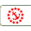 Annin Yacht Club Officer's Flag - Rear Commodore