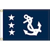 Annin Yacht Club Officer's Flag - Past Commodore