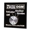 Weems & Plath OGM Series Selector Switch for LED TriAnchor Light with Strobe