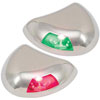 Perko Stealth Series LED Port & Starboard Navigation Light Pair (0616DP2STS)