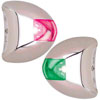 Perko Stealth Series LED Port & Starboard Navigation Light Pair (0617DP2STS)