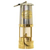 Weems & Plath Brass Yacht Lamp with Stainless Bonnet
