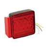 Wesbar Left / Roadside LED Submersible Combination Trailer Taillight