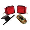 Wesbar LED Submersible Combination Trailer Taillight Kit