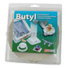 LIFC BUTYL CAULKING TAPE WHITE