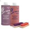 Star brite Snappy 2-Part Teak Cleaner and Restorer Kit with Brushes