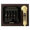 Weems & Plath Stormglass Wooden Plaque Display