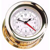 Weems & Plath Atlantis Time & Tide Clock - Brass