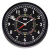 Weems & Plath Trident Time & Tide Clock - Matte Black