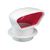 Nicro Low Profile Snap-In Cowl Vent - 4""