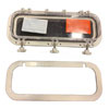 Bomar Gray Series Molded Rectangular Opening Portlight