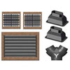 Webasto Teak Air Duct Kit - FCF 5000 & 9000 Air Conditioners