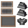 Webasto Teak Air Duct Kit - FCF 12000 & 16000 Air Conditioners