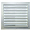 Marine Systems Air Return Vent/Grill - White Plastic
