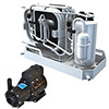 Webasto FCF Platinum AC w/Reverse Cycle Heat w/ Koolair PM1000 Magdrive Pump
