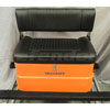 Mercury Folding Bench Seat w/Orange Fiberglass Base